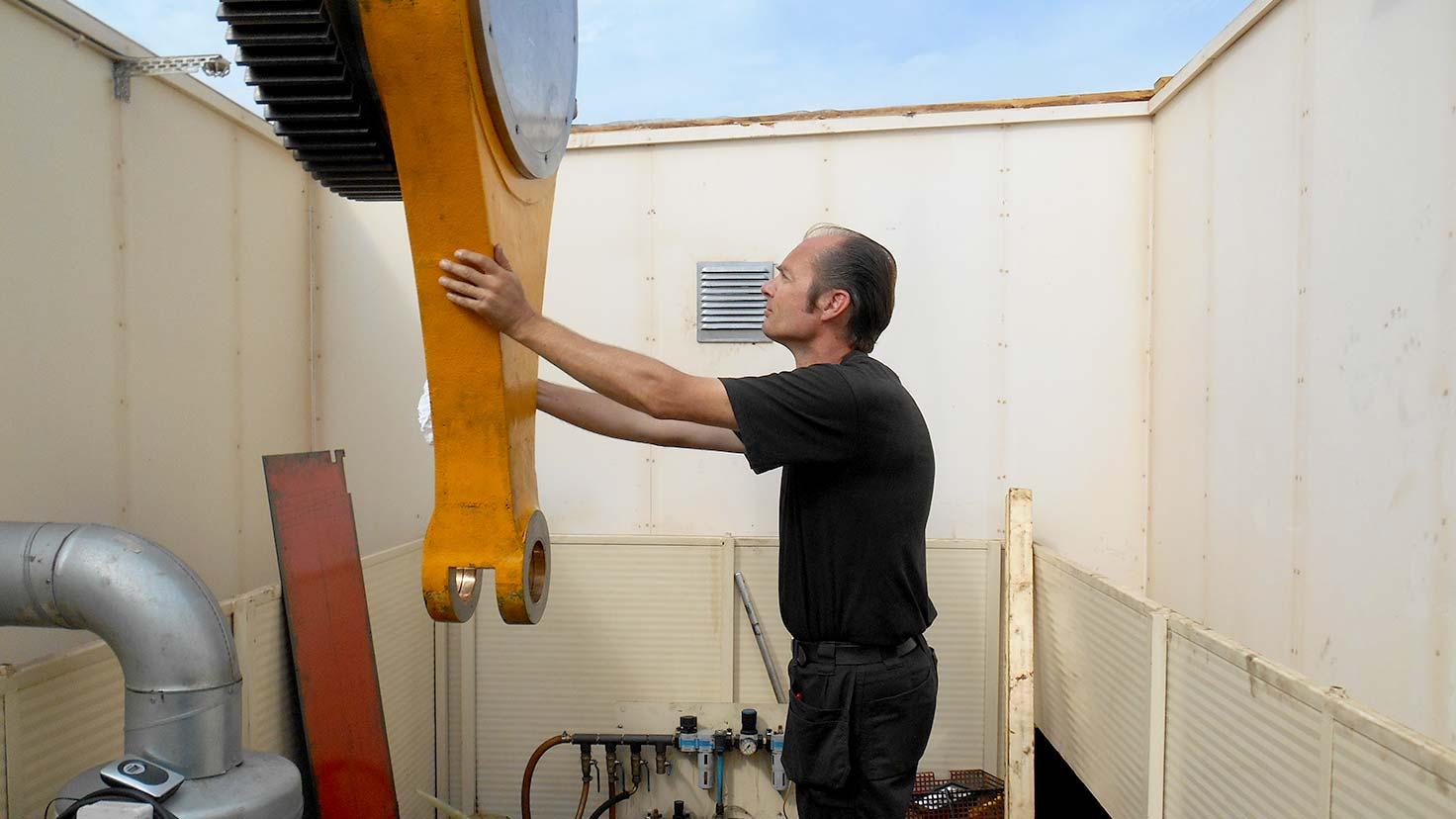 Renovering pressar