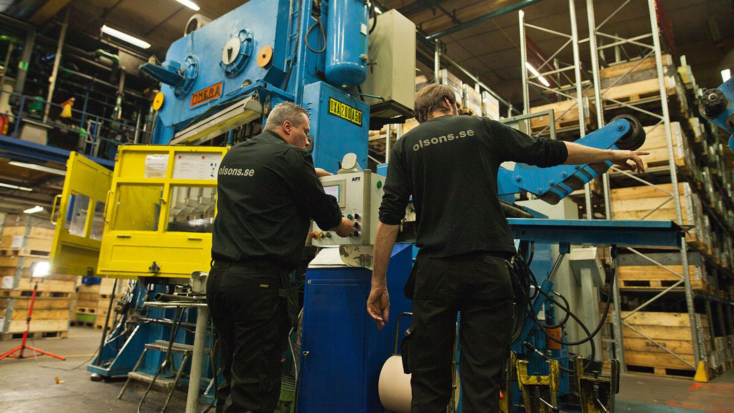 Service och reparationer av pressar
