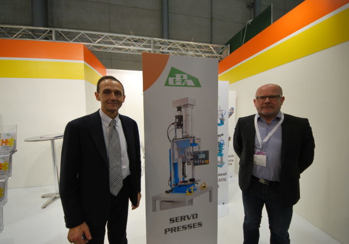 Olsons maskinservice hos Euro Blech i Hannover