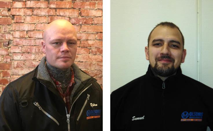 Nya servicetekniker till Olsons Maskinservice